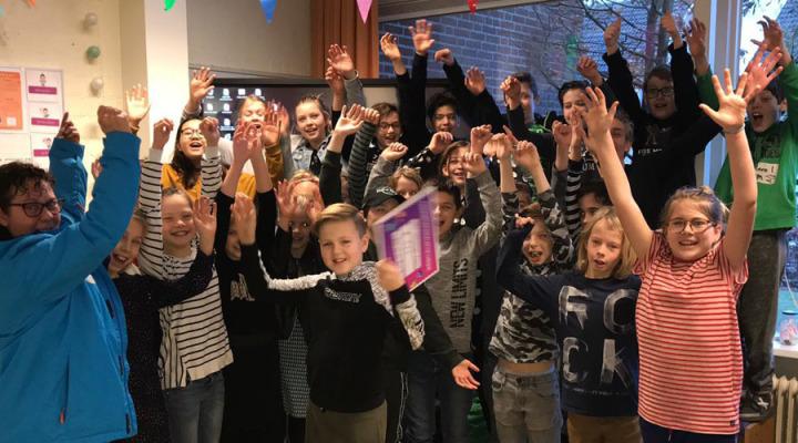 Kinderpostzegelactie OBS Uilenspiegel